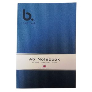 A5 B Inspired Writing Notebook