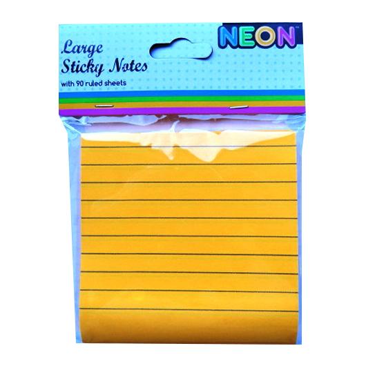 Large Sticky Notes Orange Front