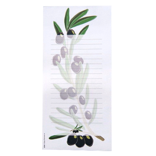 Shopping List Olive Branch Front